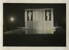PHOTO ANCIENNE - VINTAGE SNAPSHOT - PARIS NUIT FRESQUE VERS 1930 - NIGHT