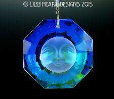 AUSTRIAN CRYSTAL SUN FACE made/w Swarovski Beads SunCatcher Lilli Heart Designs