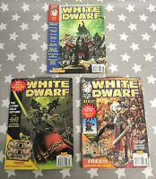 Warhammer 40k Games Workshop White Dwarf Magazine 1997 BUNDLE 210 211 212