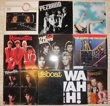"Power Pop, 10 Vinyl Record Lot, 9 LP & 1 12"" EP, All US 1st, 3 Promo Babys Bears"