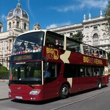 Hop-on Hop-off Sightseeing Big Bus Vienna 48 Stunden Premium Ticket Wien 2020