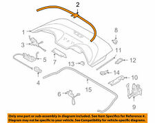 NISSAN OEM 03-09 350Z Stowage-Convertible/soft Top-Protector 972A0CE400
