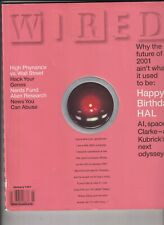 Wired Mag Media Hal 9000 Computer   Wall Street January 1997 120319nonr
