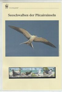 WWF   2007  Pitcairn Inseln  Seeschwalben  Kapitel kplt.
