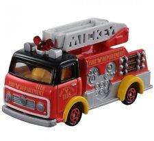 Takara Tomy Tomica Disney Motors DM-17 Mickey Mouse Fire Truck Toy Car 2015 F/S