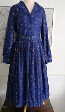 Bnwt Sz16 Lindy Bop Shannon Winter Scene Dress Vintage 40s 50s Style