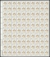 1869e, 50¢ Nimitz Perf 11.2 Shiny Gum Sheet of 100 Stamps CV $625. - Stuart Katz