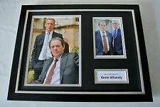 Kevin Whately SIGNED FRAMED Photo Autograph 16x12 display Lewis TV & COA