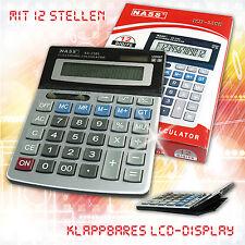 Calculatrice KD - 2385 de bureau solaire à grand ecran 12 chiffres grande touche