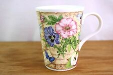 Crown Trent England Fine Bone China Floral Tea Coffee Cup Mug