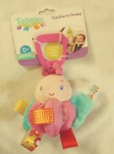 Taggies Soothe and Shake Plush Toy baby carseat activity center New
