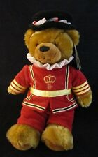 "Harrods of London 10"" Beefeater Bear New With Tags for Harrods Knightsbridge"