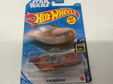Hot Wheels 2021 Star Wars X-34 Landspeeder # 12/250 Screen Time 2/10 NEW in box