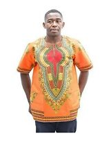 Dashiki africaine chemises hommes + femmes Pan impression traditionnelle africaine Pafric -L à XL