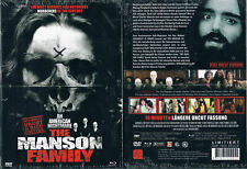THE MANSON FAMILY --- Blu-ray + DVD --- 3-Disc Mediabook --- Neu & OVP --- Uncut