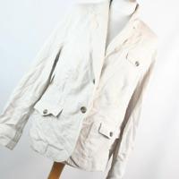 Debenhams Womens Size 16 Beige Cotton Jacket