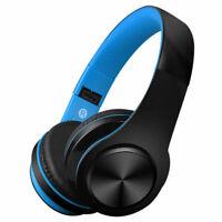 Wireless Bluetooth Headphones Foldable Stereo Earphones Super Bass Headset Mic _