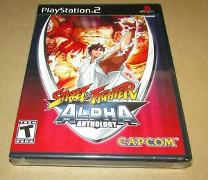 Street Fighter Alpha Anthology (Sony PlayStation 2) Brand New / Fast Shipping