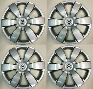 "4PC 16"" Hubcaps fits 2002 to 2004 Nissan Altima Hub Cap Wheel Cover"