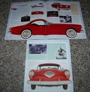 ★★1954 KAISER DARRIN 161 INFO SPEC PHOTO ARTICLE 54 WILLYS ★★