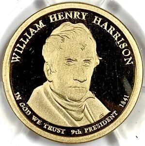 2009-S United States WILLIAM HENRY HARRISON Presidential Dollar ANACS PR70 DCAM