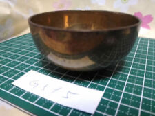 "2.953"" Japanese Vintage Buddhist Bell Gong Rin G515 Good Sound"