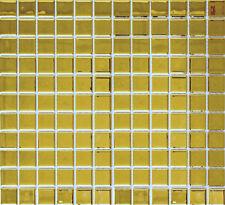 Mosaico piastrella vetro oro muro cucina bagno: 60-0706_b | 1 foglio