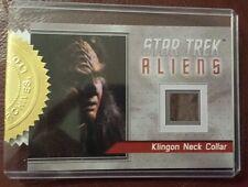 Star Trek Aliens Relic Card R1 Klingon Neck Collar (Archive Exclusive) Ex - Rare