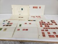 LOT of mixed collection of  postage stamps Used #20