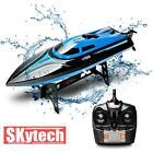 Electric RC Racing Boat Waterproof Siumution 20Km/Hour Outdoor Water Toys Gift