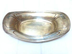 "Vintage SOLID Sterling Silver Plate, 10.5"" wide, total of 164 grams"