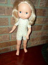 1970 Fisher Price Mandy Doll #210 Pink Rose Buds Body 1st Edition