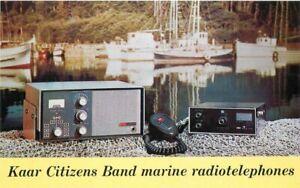Advertising CB Radio Kaar Citizens Band phones Postcard 21-1981