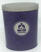 Purple & Gray Oval Teavana Inspiration Tea Storage Tin Canister