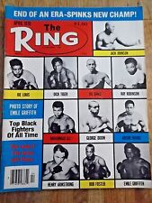 The RING Magazine BOXING April 1978 End of an Era~Spinks New Champ!