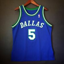 100% Authentic Jason Kidd Mavericks Champion NBA Mavs Jersey 44 M L - Nowitzki
