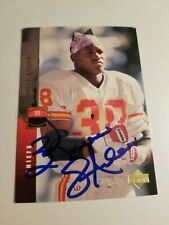 Kimble Anders signed 94 Upper Deck Card Kansas City Chiefs autographed