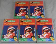 Sesamstrasse Weihnachten - gut erhaltene VHS Video Kassette - Kinderfilm /H