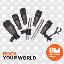 Samson Audio DK707 7 Piece Drum Mic Kit DK-707 Microphones