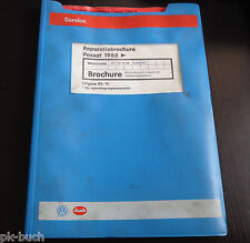 Reparatiebrochure VW Passat B3 35i Mono-Motronic inspuit- en ontstekingssysteem