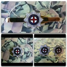 Coldstream Guards Lapel / Cuff Links / Tie Bar Gift Set Version 2