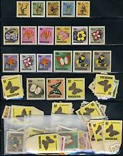 RHODESIA SC#328/47 BUTTERFLIES LOT OF 12 SETS NH