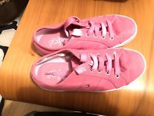 Tommy Hilfiger girls pink rubbers size 1