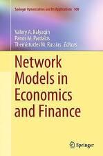 I modelli di rete in economia e finanza da Springer editoria internazionale.