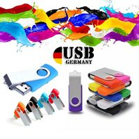 64GB-4GB 2GB 1GB USB 2.0 Flash Memory Stick Pen Drive Tiny Storage Thumb Swivel