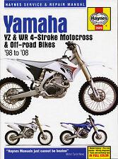 Haynes Manual 2689-Yamaha Yz250f Y Wr250f, Yz400f, Wr400f-Servicio Y Reparación