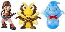 Ghostbusters Ecto Minis X 3 Erin Rowan Cartoon & Cockroach Ghost Figures DVR82