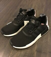 c0b073ea84d9f Women s Adidas NMD R1 W Shoes Sneakers B37649 Size 7.5 Black Pink Boost New  Rare
