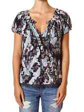 ODD MOLLY LACE EDGED PAISLEY PRINT CHARCOAL TOP SIZE 1 OR 3 RP £105
