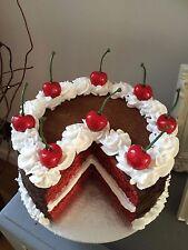 Fake red velvet cake
